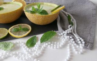Smoothie z melona