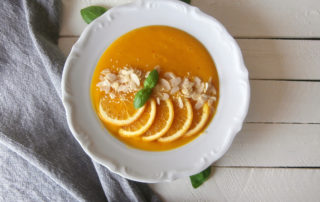 Krem marchewkowo - pomarańczowy